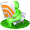 Green Rss Reader Image